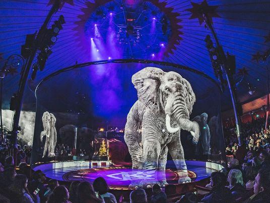 Elefantes de circo holográficos y otras innovaciones