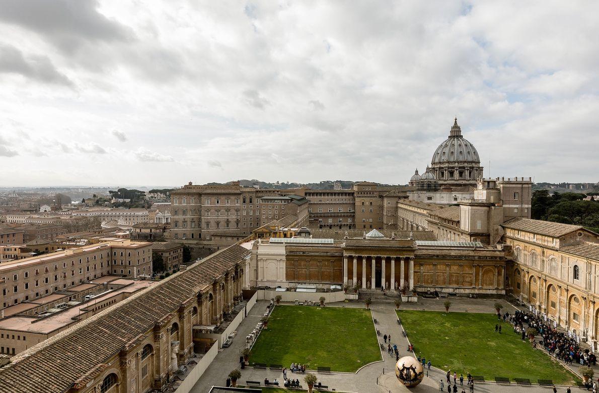 Patios del Vaticano