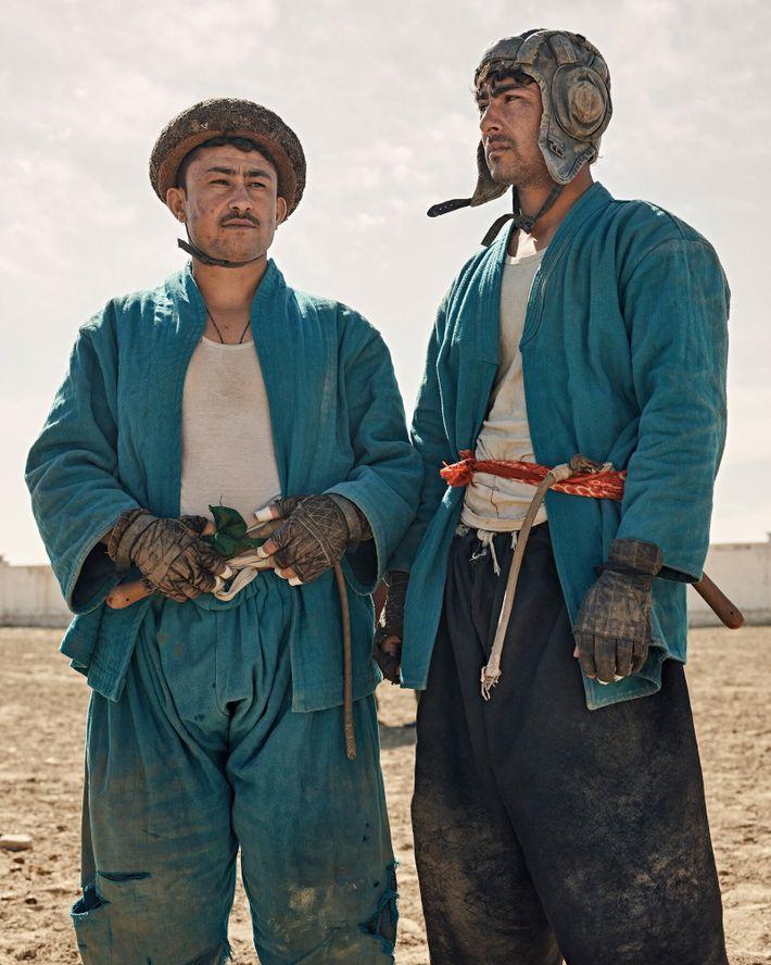 Asif y su hermano pequeño Yasin