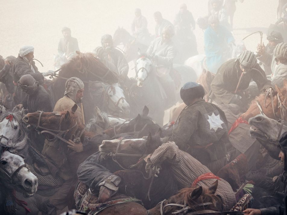 El «buzkashi», el deporte nacional de Afganistán, corre peligro