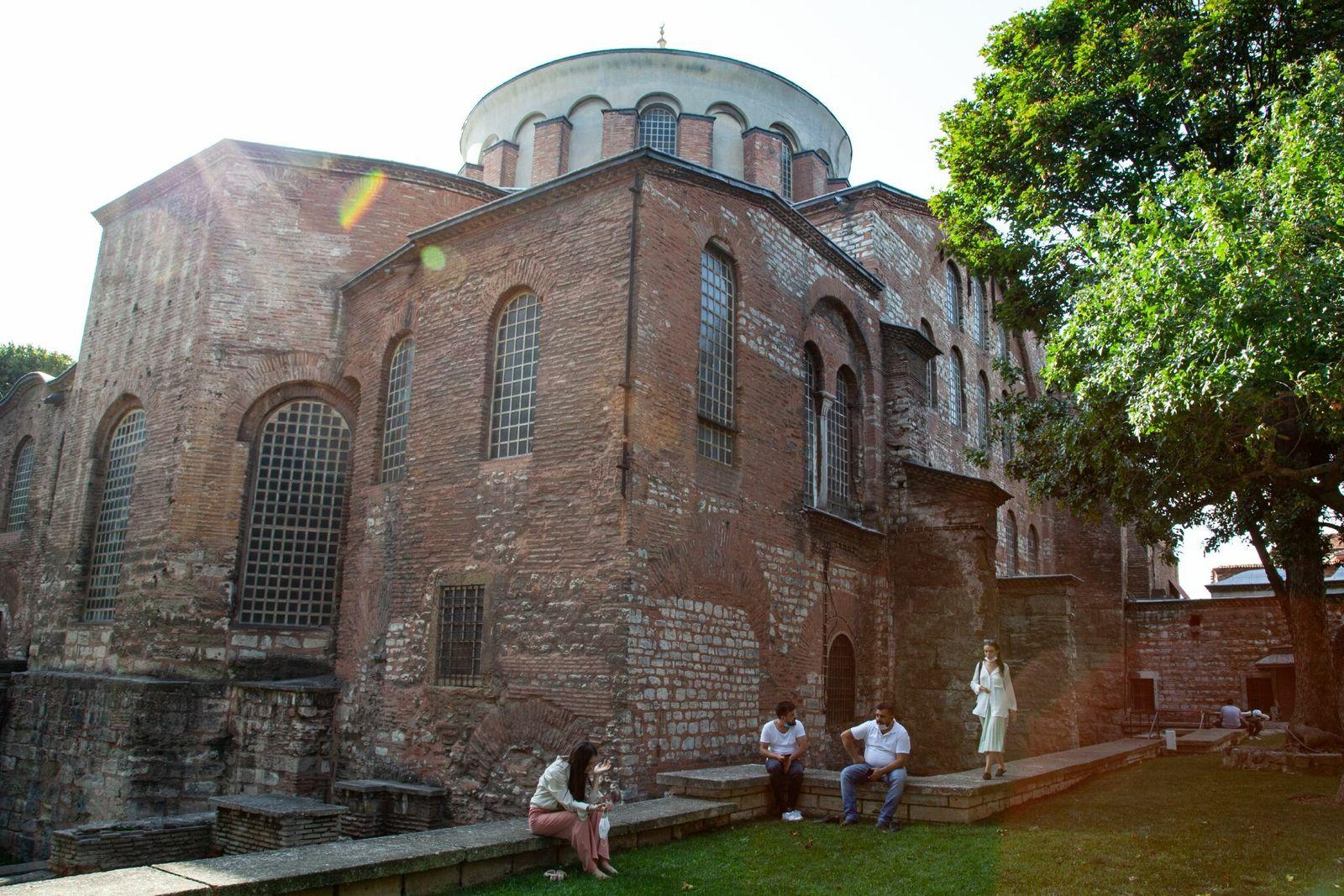 La iglesia de Santa Irene