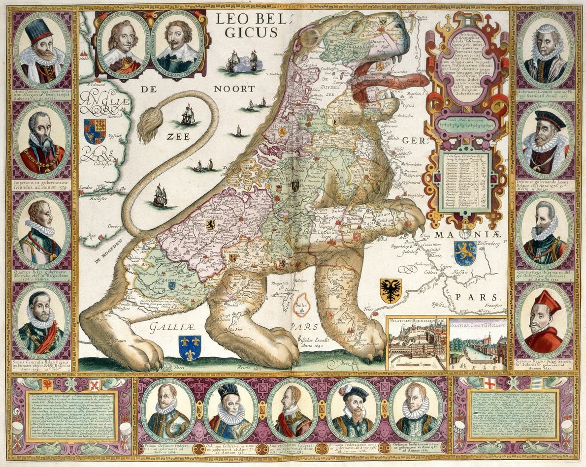 Mapas propagandísticos Europa