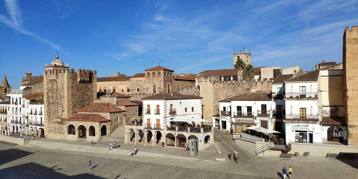 Lugares Patrimonio Humanidad España 12 Cáceres