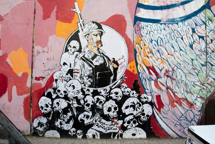 Grafiti en El Cairo