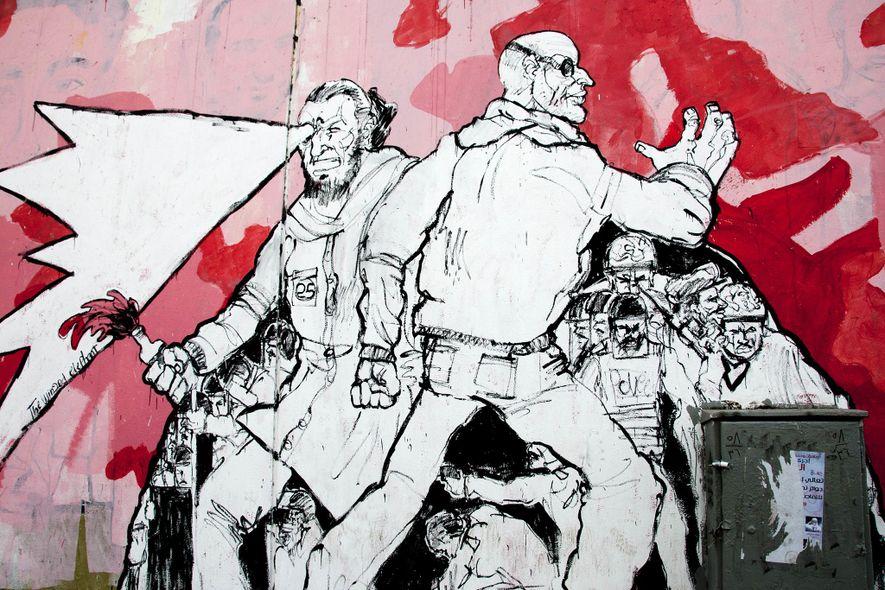 Grafitis en Egipto