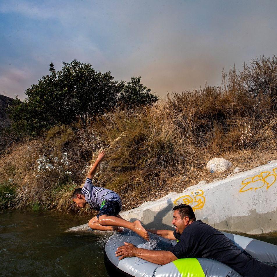 California bate un récord de temperatura: más de 54 grados