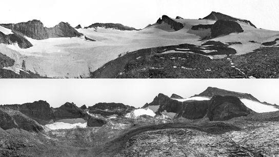 Antes y después: así afecta el cambio climático a estos paisajes
