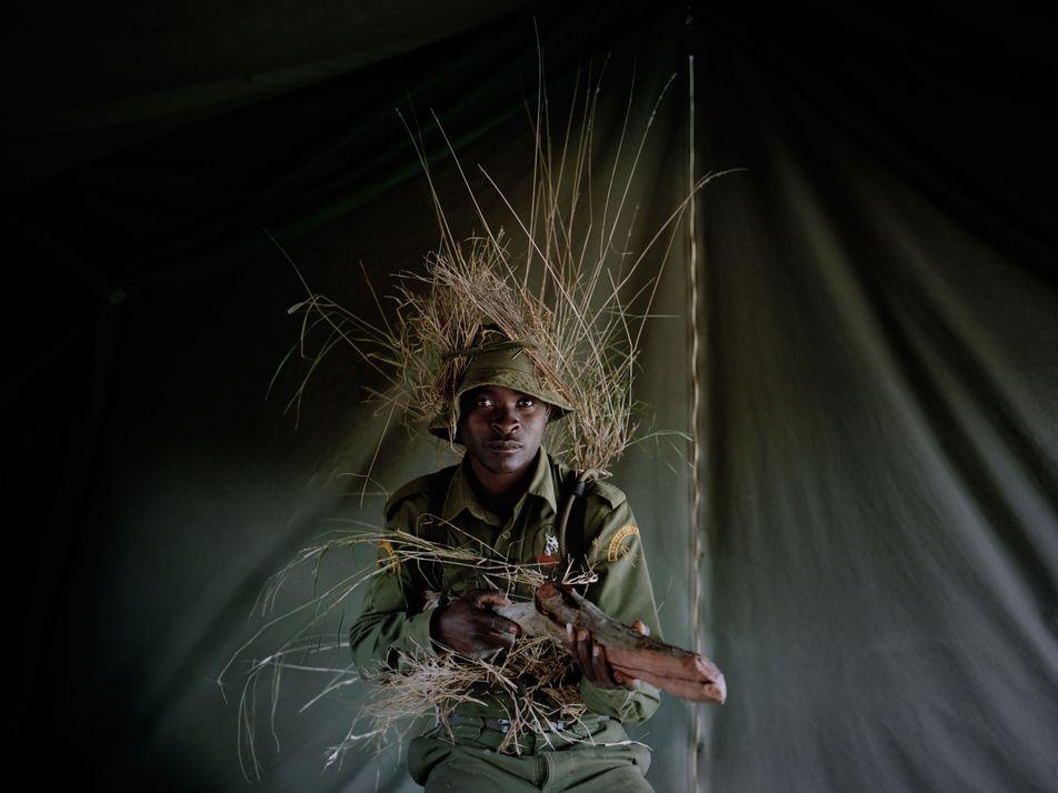 La unidad anti caza furtiva de Kenia