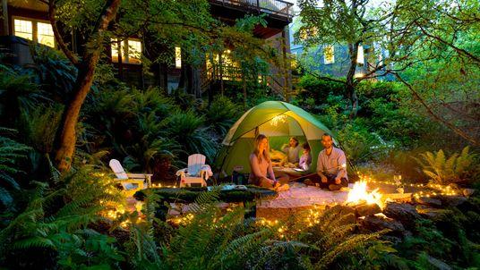 Acampar en el jardín y otras formas de conocer el mundo sin salir de casa