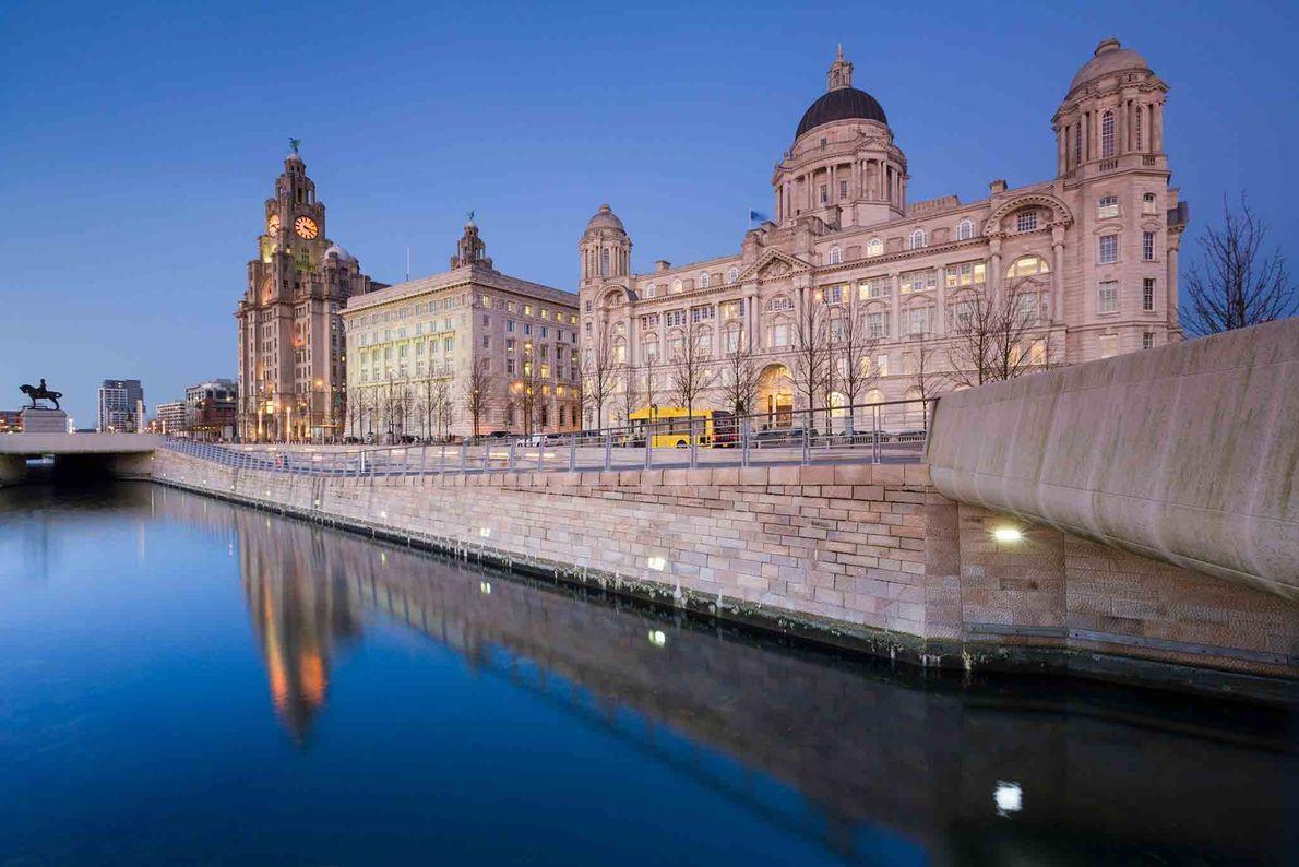 Ciudad marítima y mercantil de Liverpool, Reino Unido