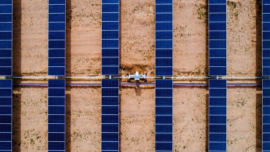 La planta fotovoltaica Puerto Libertad, construida por ACCIONA, abastece con energía limpia a 600.000 hogares mexicanos.