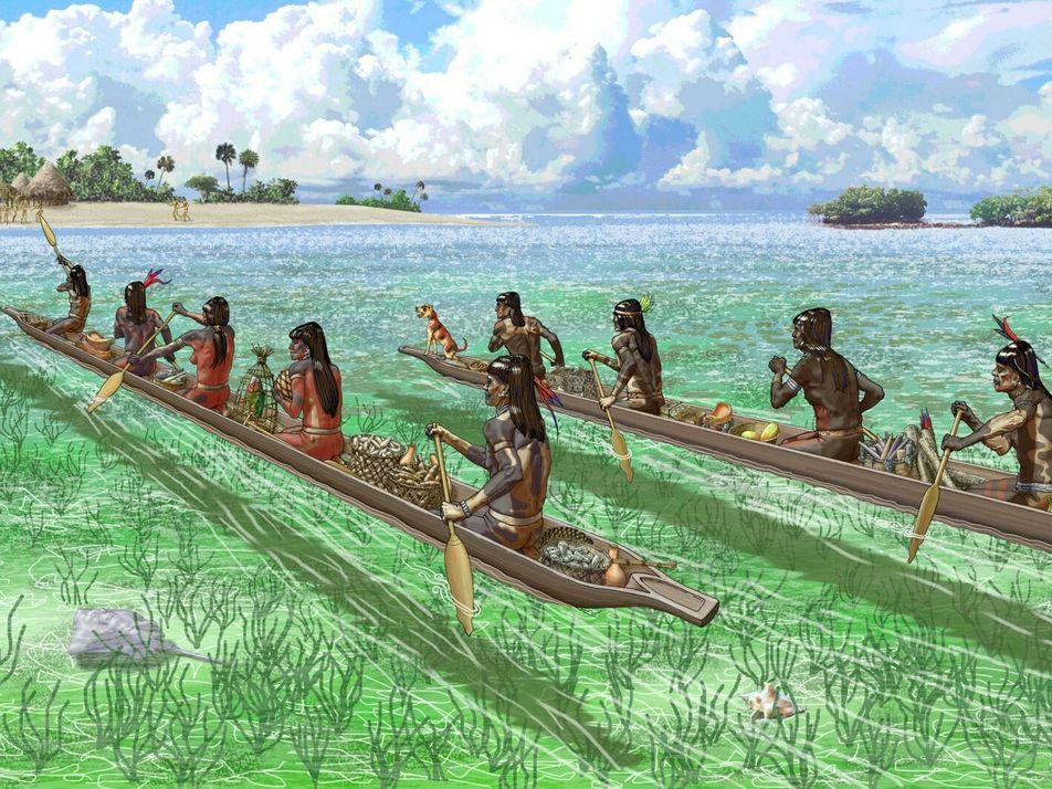 Unos invasores casi acabaron con el primer pueblo del Caribe mucho antes de la llegada de ...