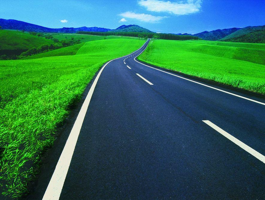 El polvo de neumático es un material muy útil para la construcción de carreteras de forma sostenible.