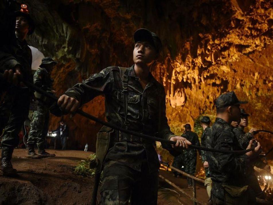 El peligro no ha terminado para los niños atrapados en la cueva tailandesa