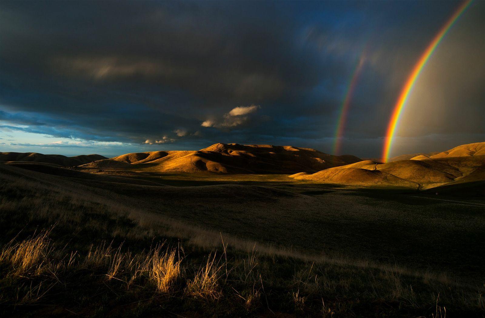 Fotografía de la sierra de San Emigdio, California