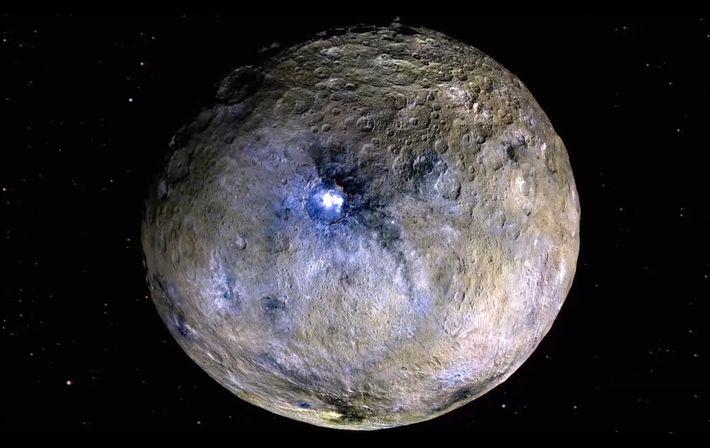 Imagen del planeta enano Ceres