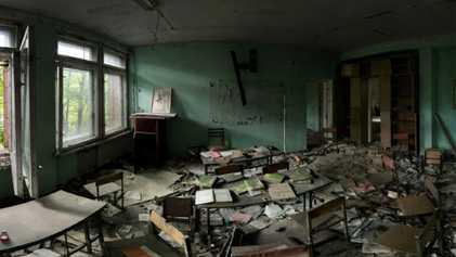 Descubre el embrujo de las ruinas de Chernobyl con estas imágenes de 360 grados.