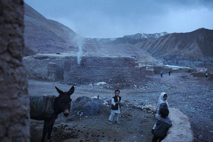 Niños en Afganistán