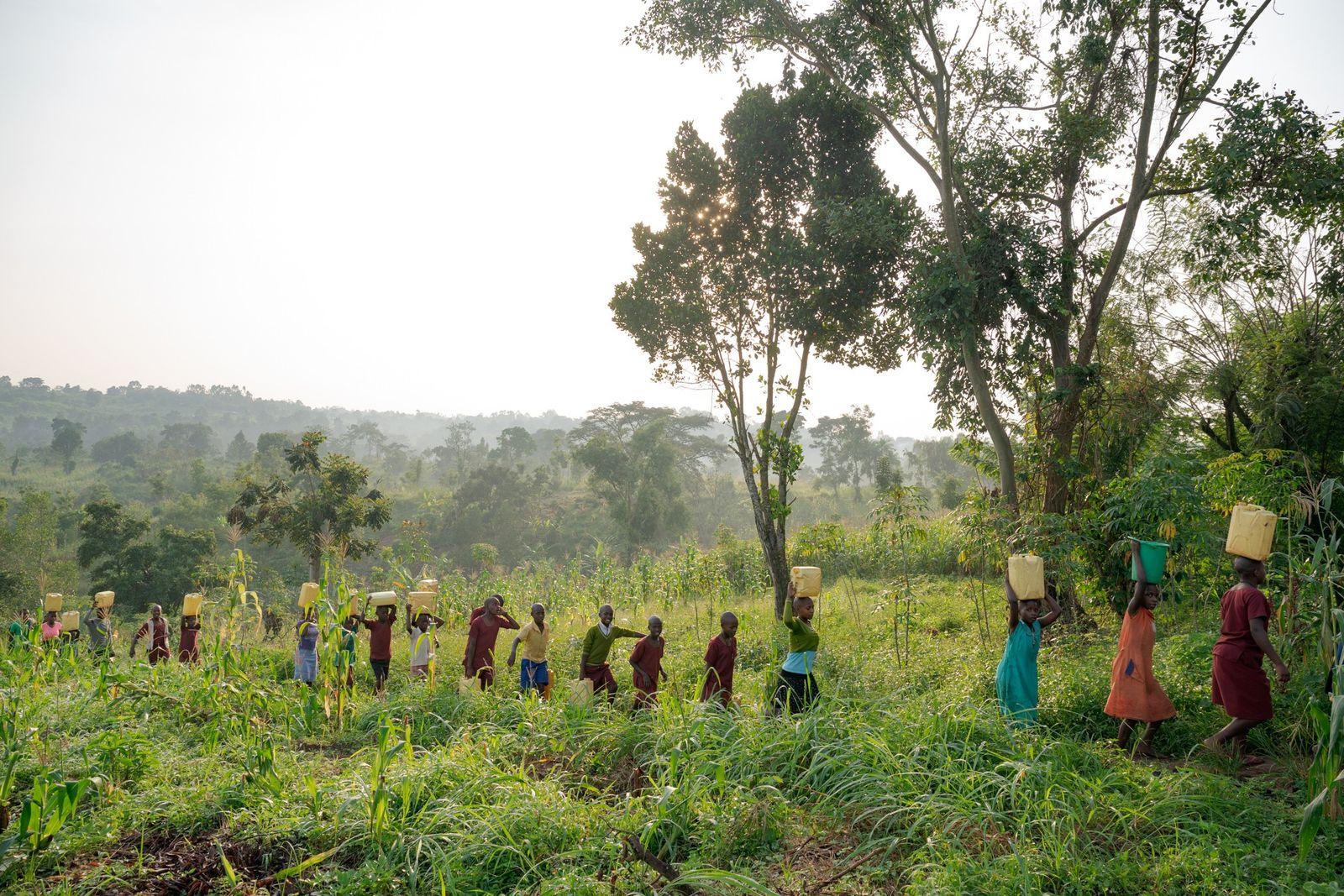 Niños de Kyamajaka