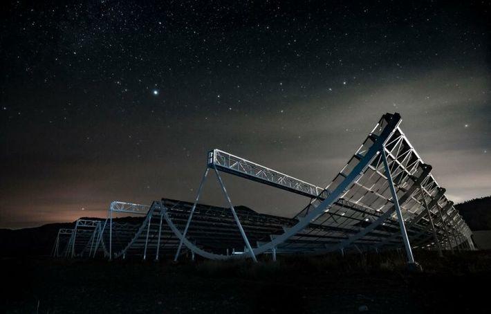 El telescopio CHIME de Canadá