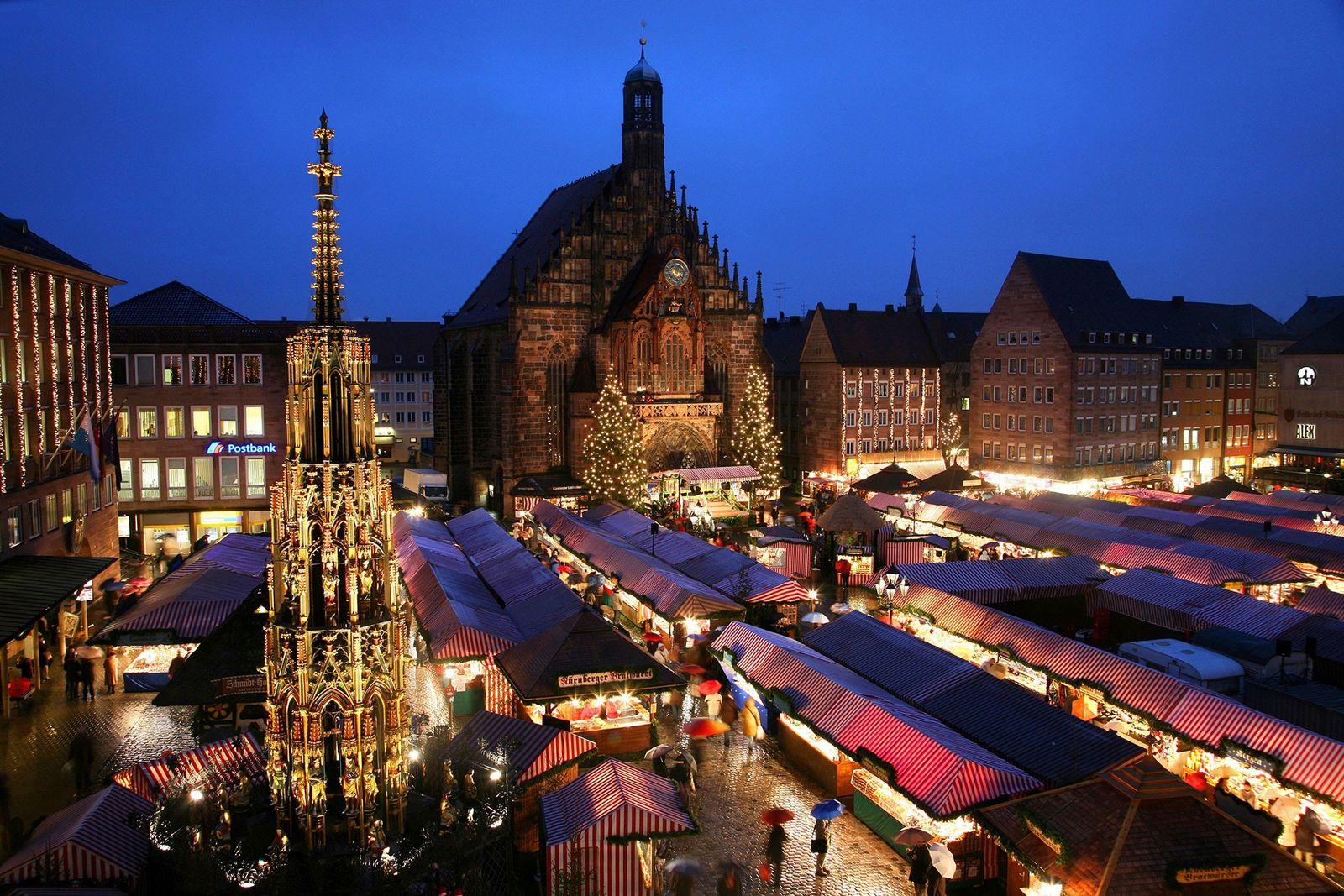 Mercado navideño de Nuremberg