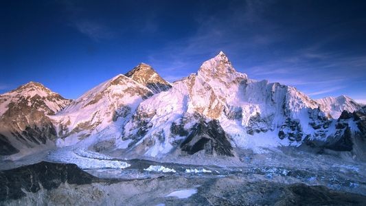 Los picos más altos del planeta en invierno