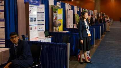 Las niñas científicas de la ISEF