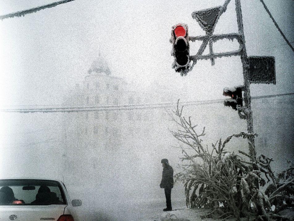 Esta ciudad siberiana es la más fría del mundo