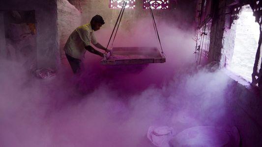 Holi, el festival de colores de la India