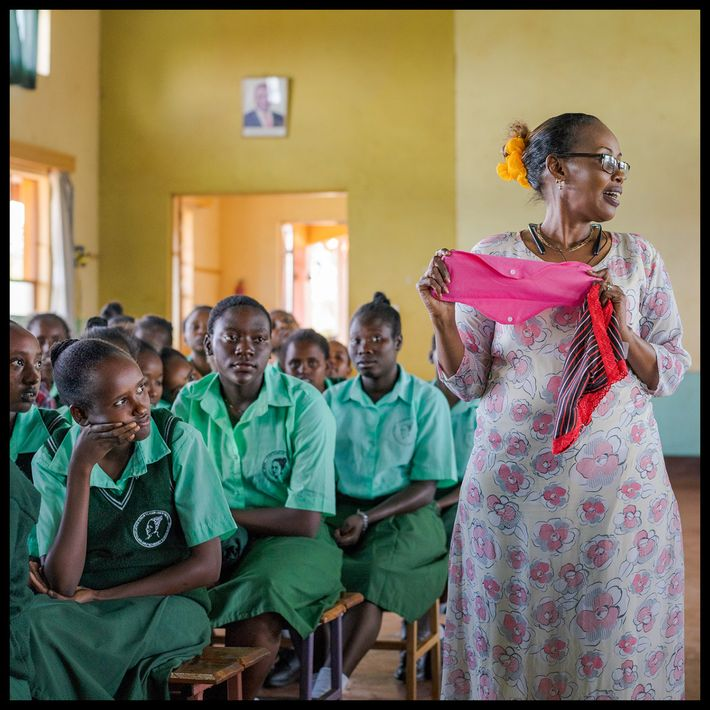 Activista comunitaria, Kenia