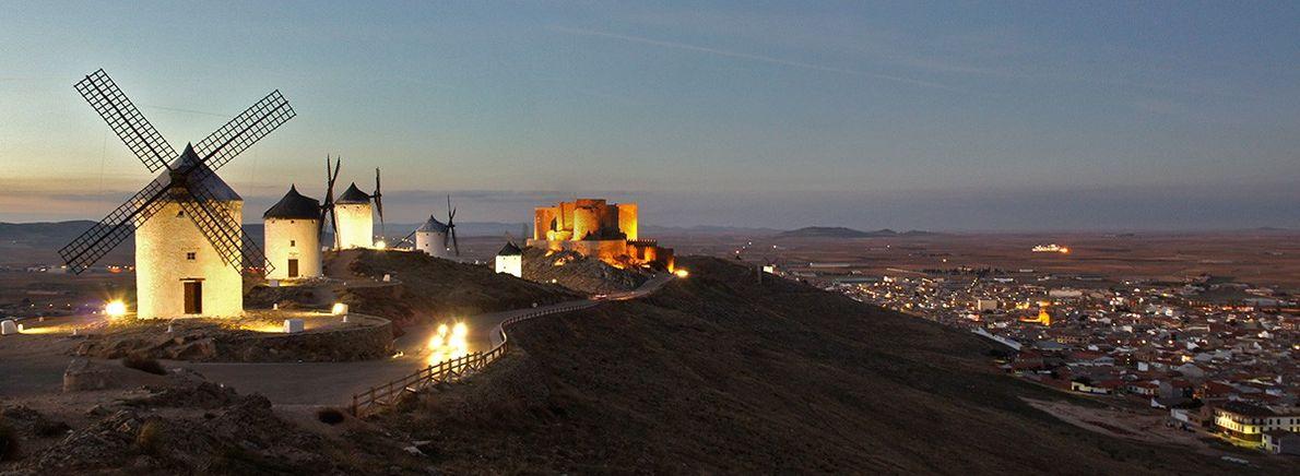 Europa desde el cielo Castillo de Consuegra