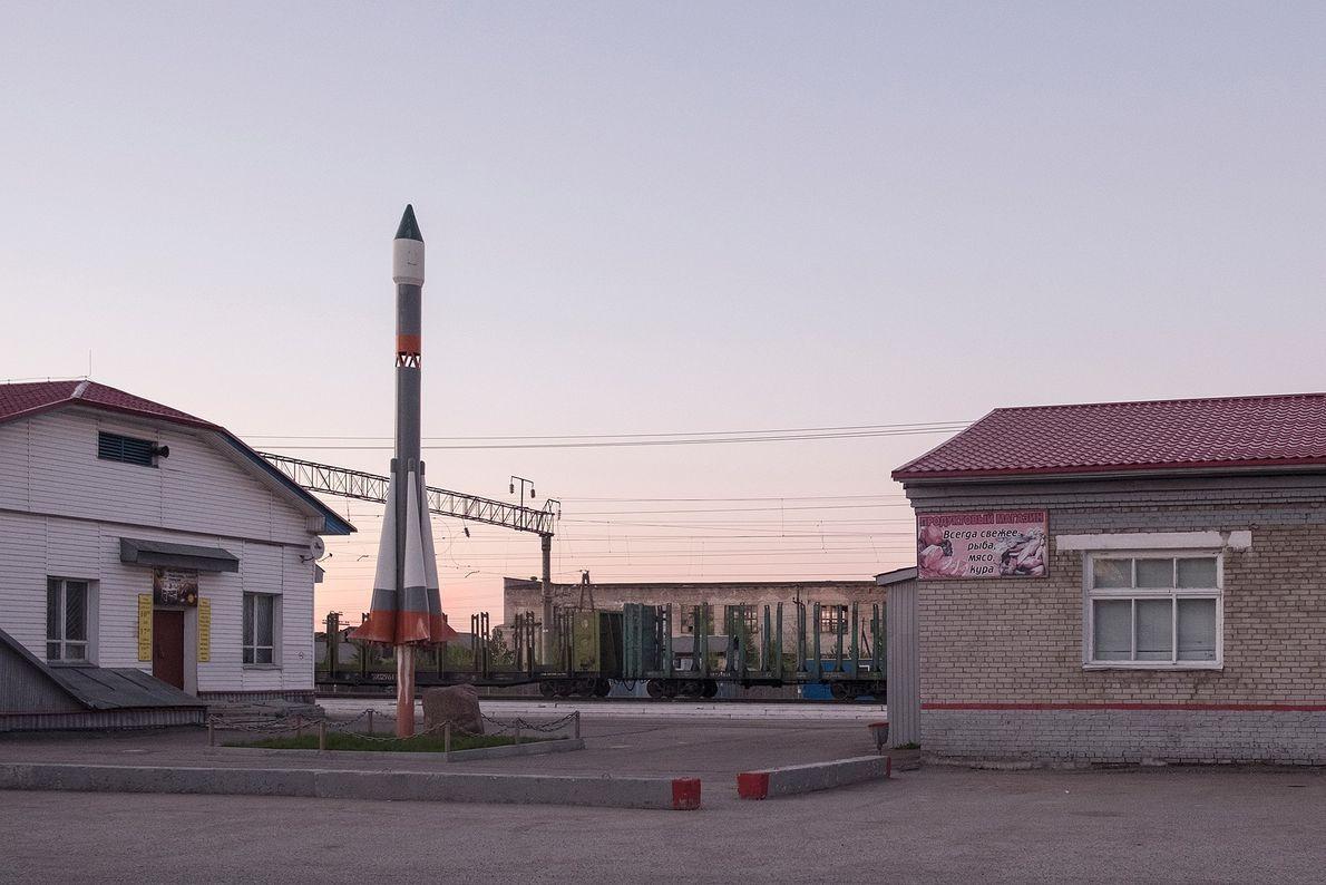 Un cohete miniatura