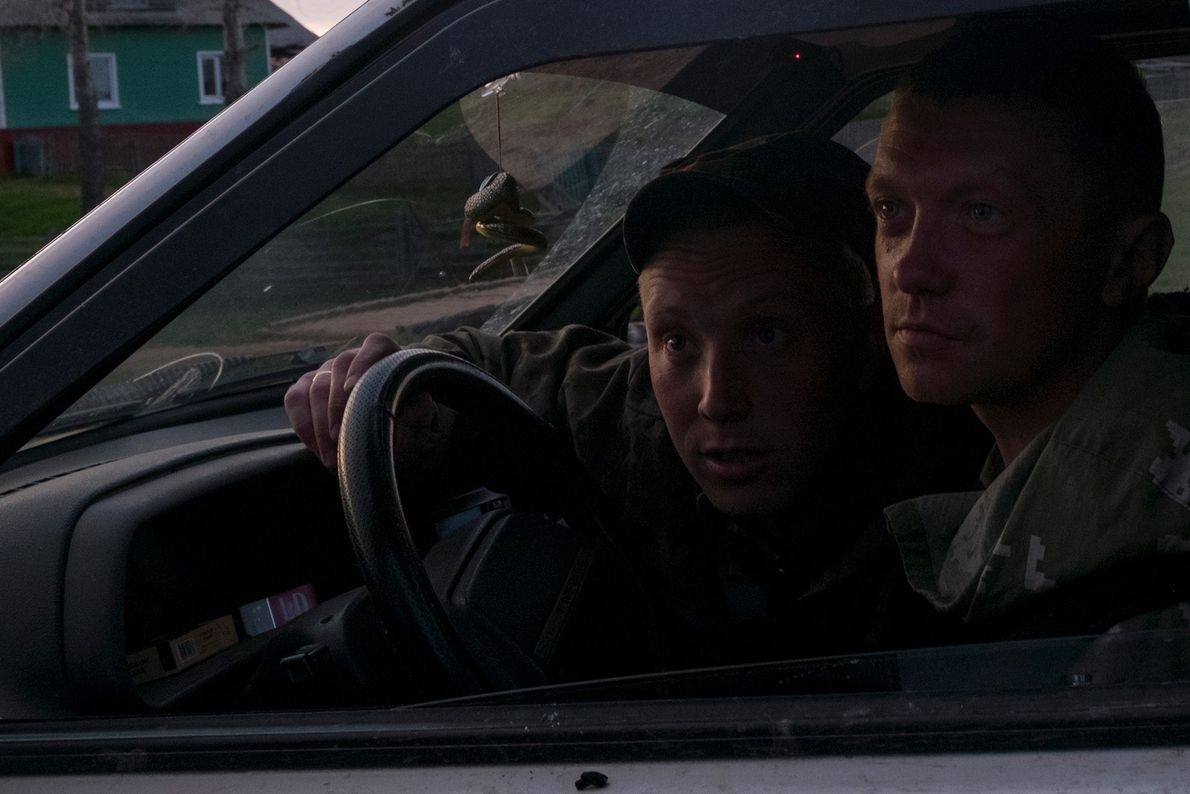 Dmitri y Misha