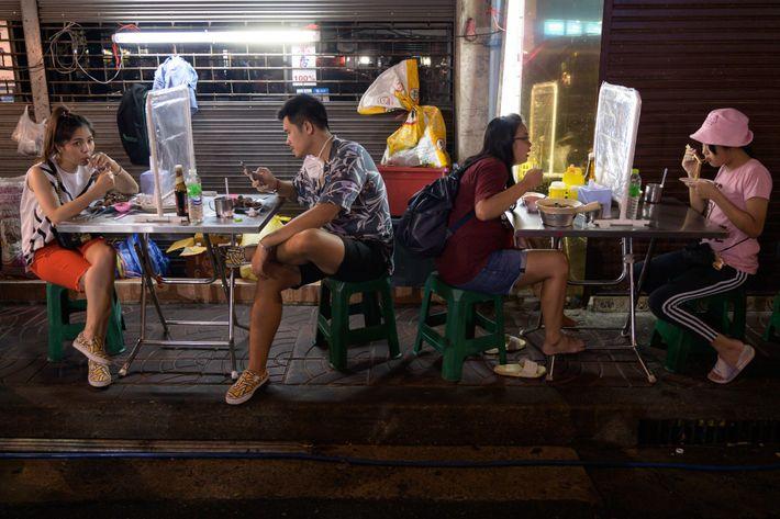 Restaurante de Chinatown