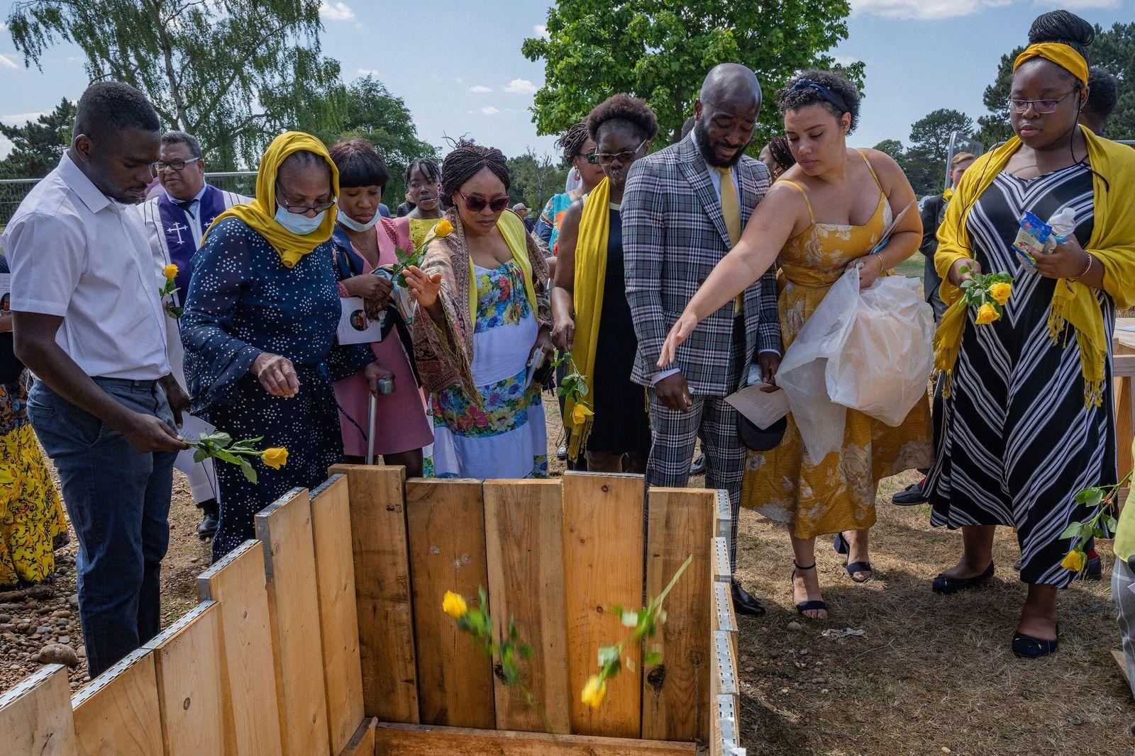 Funeral de Esther Iyabode Akinsanya