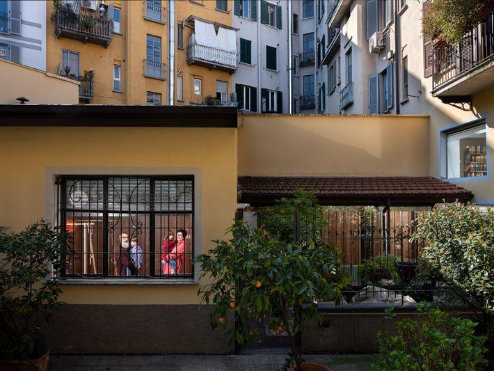 Michela Croci, Luca Volta e hijos