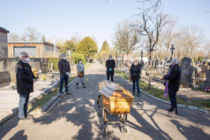 Funeral de Simone Piquelmal
