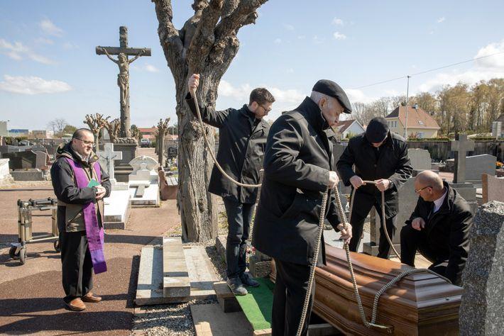 Funeral de Marie Therese Wassmer