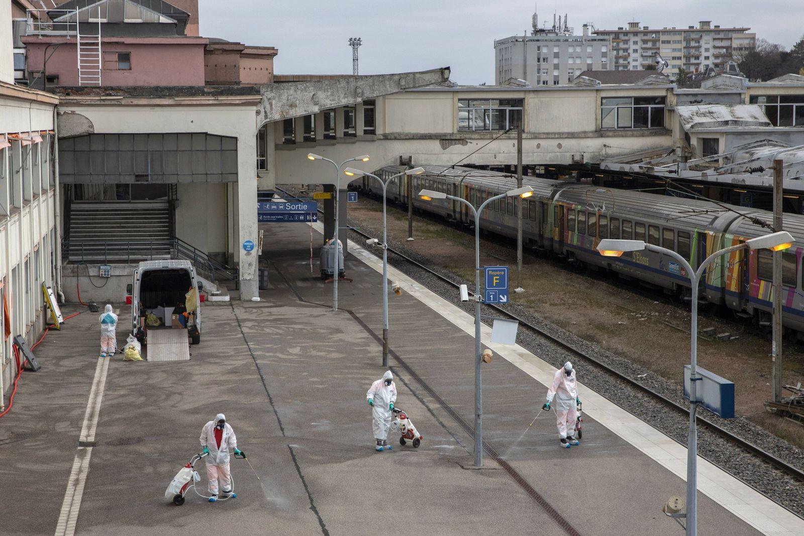 Plataforma ferroviaria