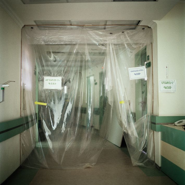 Pabellón de COVID-19 del Centro Médico Republicano