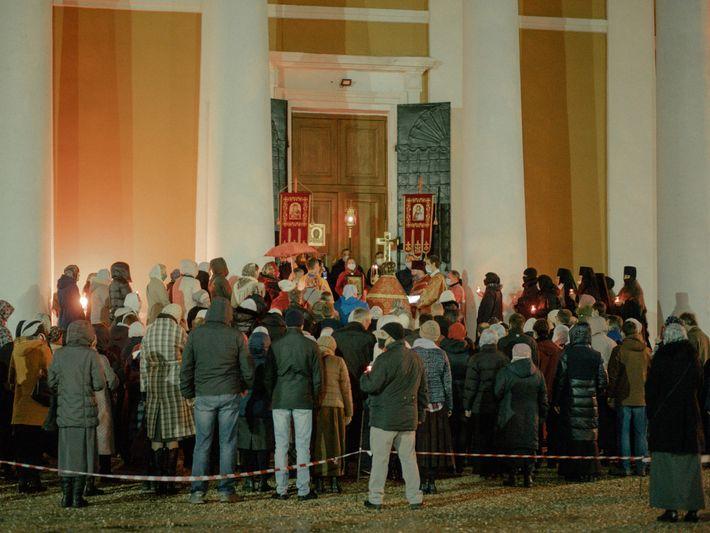 Fotografía de una iglesia en Tver