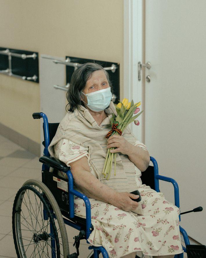 Fotografía de una paciente