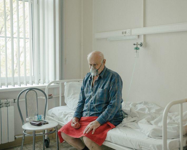 Fotografía de un paciente