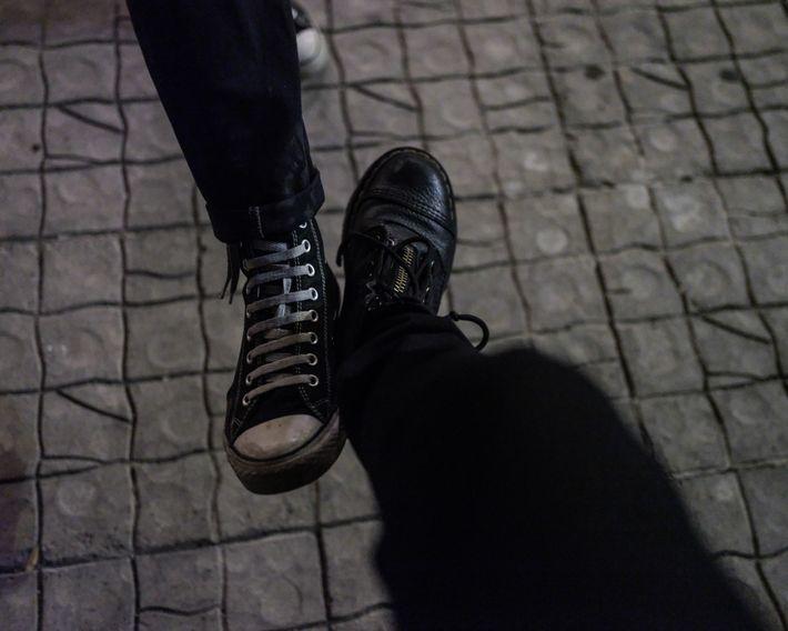 Choque de pies