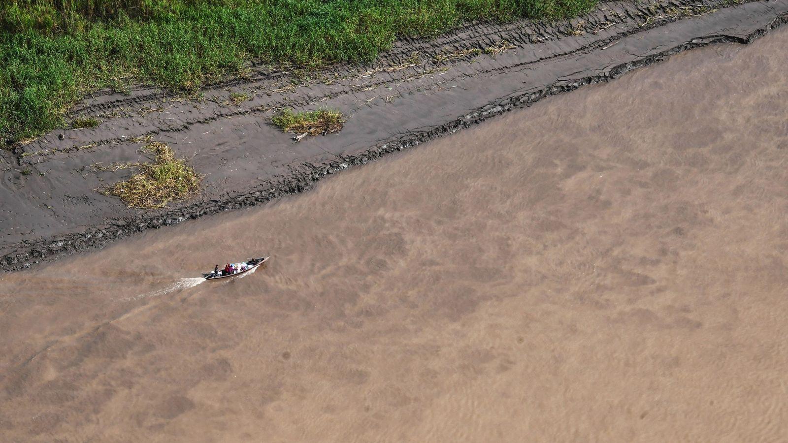 Fotografía del río Javari