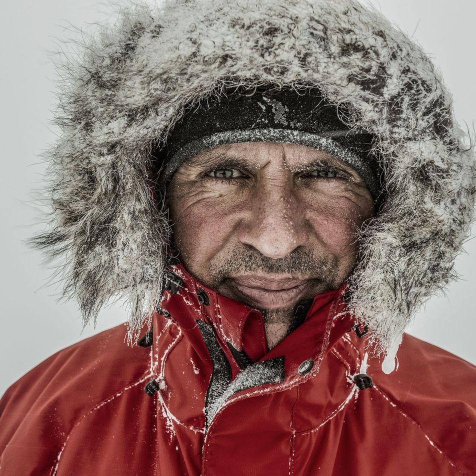 El explorador Louis Rudd completa su travesía antártica