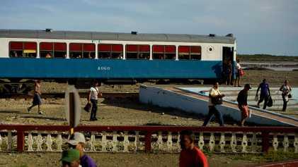 A bordo de los trenes cubanos