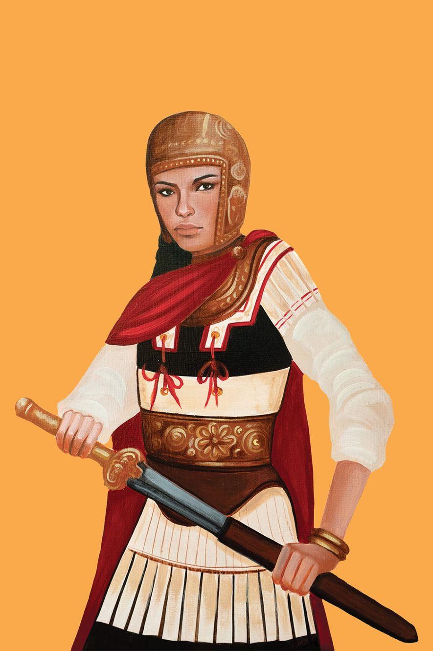 Mujeres guerreras