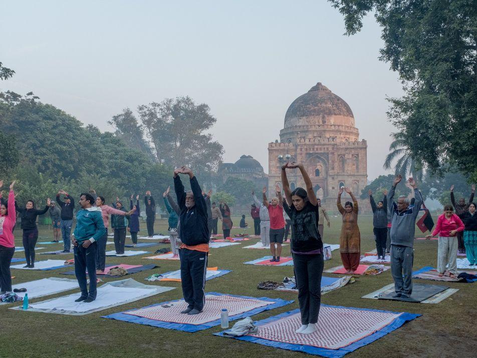La contaminación atmosférica en Delhi
