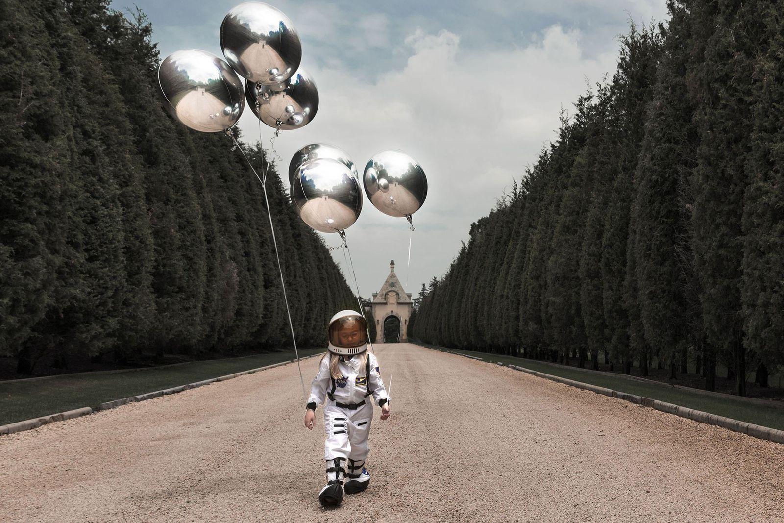 Sofía, la astronauta